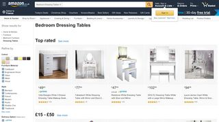 Amazon Dressing Tables