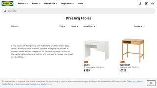 IKEA Dressing Tables