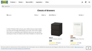 IKEA Chests