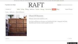 Raft Chest of Drawers