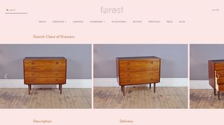 Forest Chest of Drawers