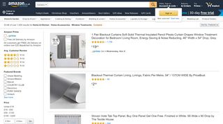 Amazon Bedroom Curtains