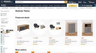 Amazon Bedside Tables