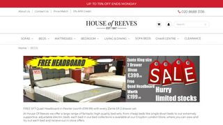 House Of Reeves Beds